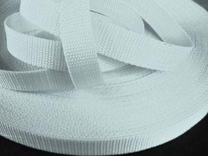Bílý popruh 2,5 cm