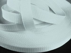 Bílý popruh 4 cm Paradise Collar