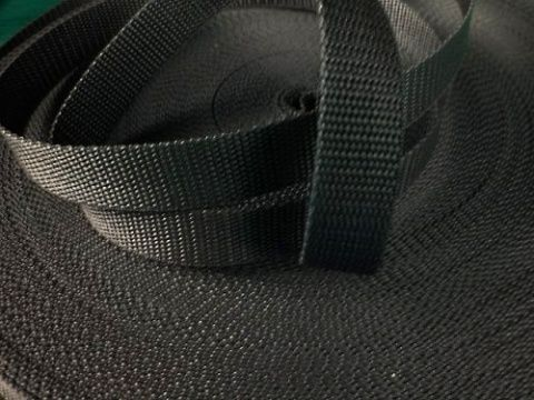 Černý popruh 2 cm Paradise Collar
