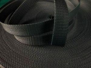 Černý popruh 5 cm Paradise Collar