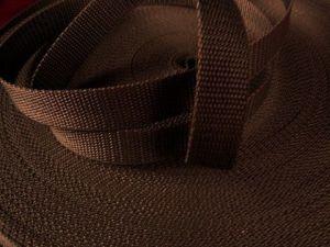 Hnědý popruh 1,6 cm Paradise Collar