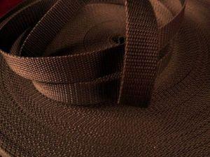 Hnědý popruh 2 cm Paradise Collar