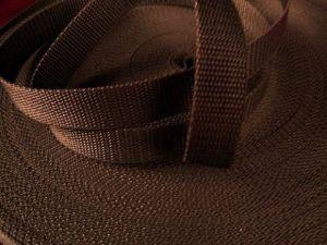Hnědý popruh 4 cm Paradise Collar