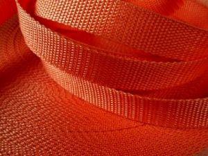 Oranžový popruh 2,5 cm