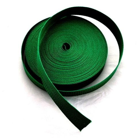 Zelený popruh 4 cm Paradise Collar