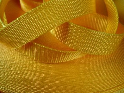 Žlutý popruh 2,5 cm Paradise Collar