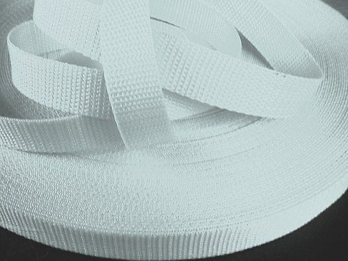 Bílý popruh 5 cm Paradise Collar