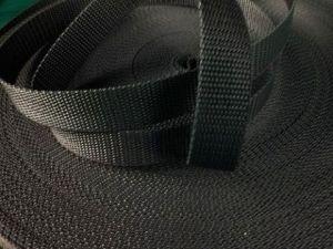 Černý popruh 1,6 cm