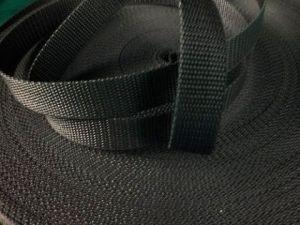 Černý popruh 2,5 cm Paradise Collar