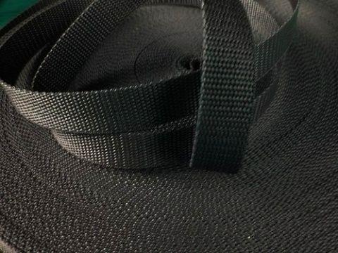 Černý popruh 4 cm Paradise Collar