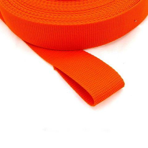 Oranžový(pomerančově) popruh 4 cm Paradise Collar