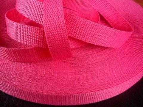 Růžový popruh 4 cm Paradise Collar