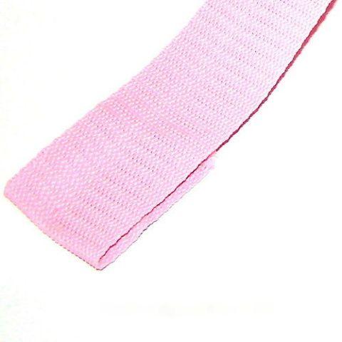 Světle růžový popruh 4 cm Paradise Collar
