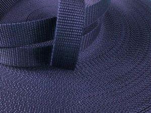 Tmavě modrý popruh 2,5 cm