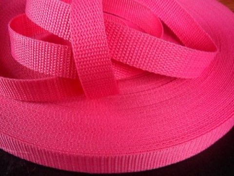 Růžový popruh 1,6 cm Paradise Collar