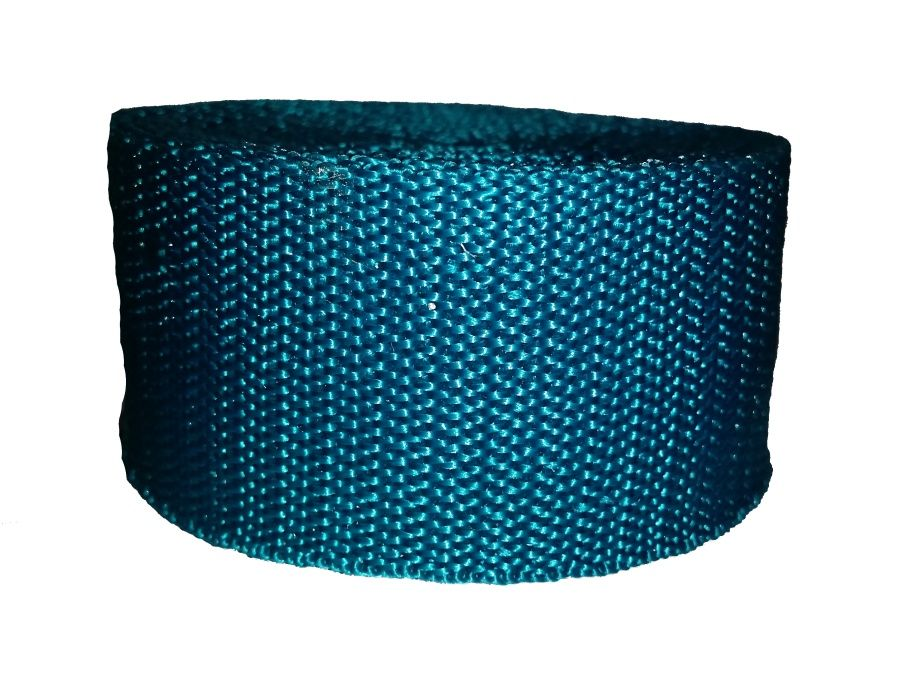 Modrozelený popruh 4 cm Paradise Collar