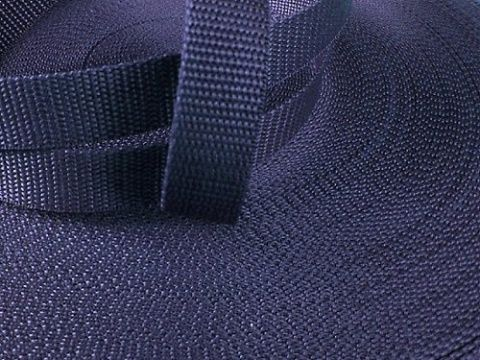 Tmavě modrý popruh 4 cm Paradise Collar