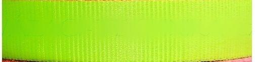 Žlutý neonový popruh 2,5 cm Paradise Collar