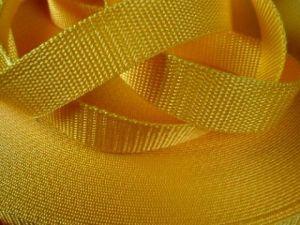 Tmavě žlutý popruh 4 cm